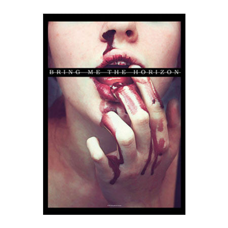 Bring Me The Horizon Blood Lust Fabric Poster