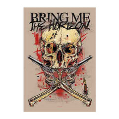 Bring Me The Horizon Thirteen Fabric Poster