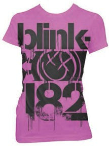 Blink 182 3 Bars Juniors T-Shirt
