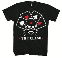 The Clash Straight To Hell Cards T-Shirt