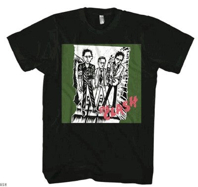 The Clash 1st Album Logo T-Shirt
