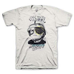 Cage The Elephant Tiny Robots T-Shirt