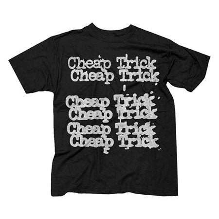 Cheap Trick Stacked Logo Mens T-Shirt