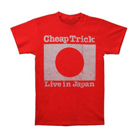 Cheap Trick Live In Japan 1979 Mens T-Shirt