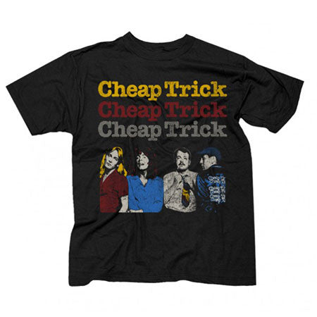 Cheap Trick World Tour 1978 Mens T-Shirt