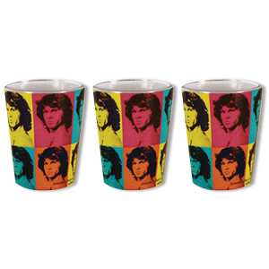 The Doors Jim Morrison Shot Glass 3 Pack