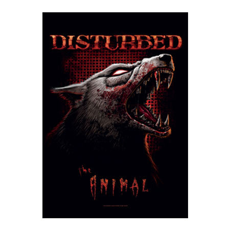 Disturbed The Animal Fabric Poster