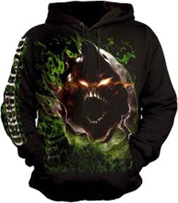 Disturbed Giant Face Pullover