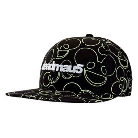 deadmau5 All Over Glow Print Cap