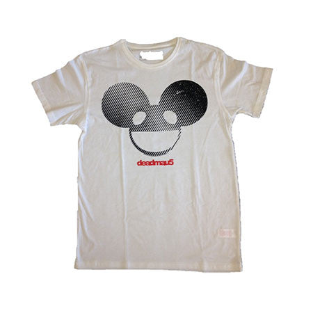 deadmau5 Black And White Logo Mens T-Shirt