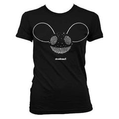 deadmau5 Silver Foil Juniors Tissue T-Shirt