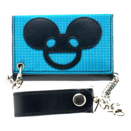 deadmau5 Blue Grid Wallet