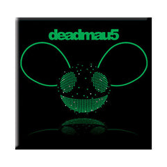 deadmau5 Green Disco Fridge Magnet