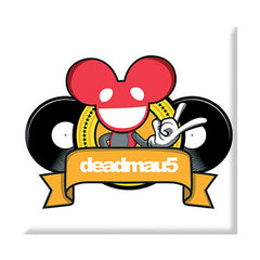 deadmau5 Rock DJ Fridge Magnet