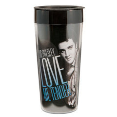 Elvis Presley 16 oz Plastic Travel Mug