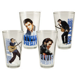 Elvis Presley 16 oz Glass Set