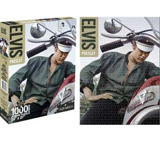 Elvis Presley Bike 1000pc Puzzle