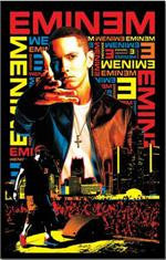 Eminem Black Light Poster