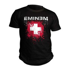 Eminem Splattered Mens T-Shirt