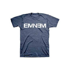Eminem Navy Logo Mens TriBlend T-Shirt