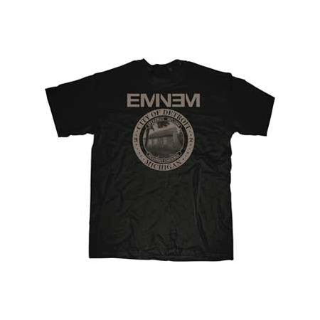 Eminem Detroit Seal Mens T-Shirt