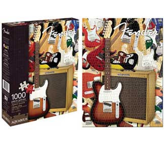 Fender Collage Puzzle