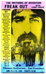 Frank Zappa Concert Poster