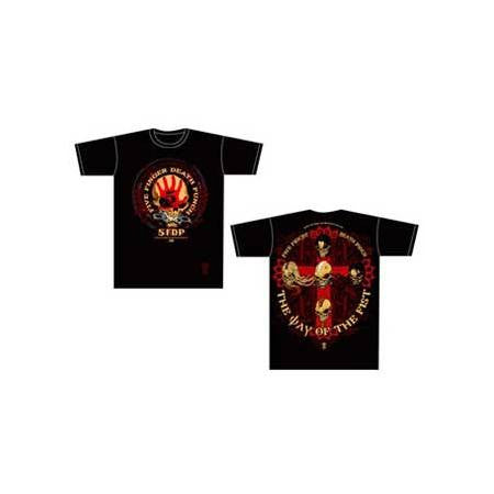 Five Finger Death Punch Day Of The Fist Mens T-Shirt