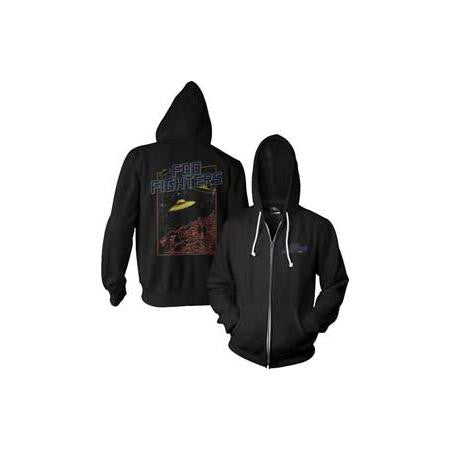 Foo Fighters UFO Logo Zip Hoodie