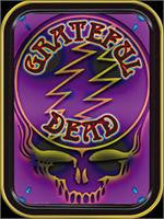 Grateful Dead Purple Skull Large Tin
