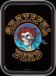 Grateful Dead Skeleton and Roses Head Small Tin