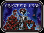 Grateful Dead Skeleton and Roses Small Tin