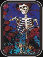 Grateful Dead Skeleton Small Tin
