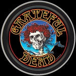 Grateful Dead Skeleton and Roses Head Round Tin