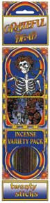 Grateful Dead Skeleton and Roses Incense