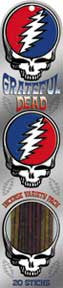 Grateful Dead Steal Your Face Incense