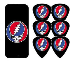 Grateful Dead Steal Your Face Guitar Picks Tin