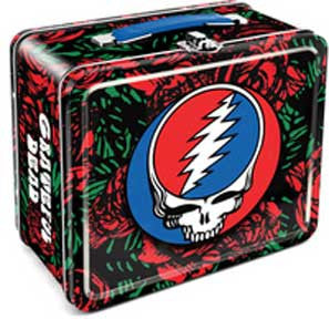 Grateful Dead Roses Lunch Box
