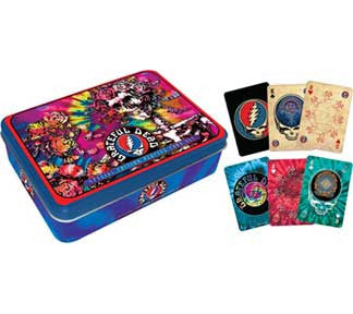 Grateful Dead Official Dead Head Playing Cards