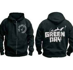 Green Day Molotov Hoodie