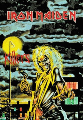 Iron Maiden Killers Fabric Poster
