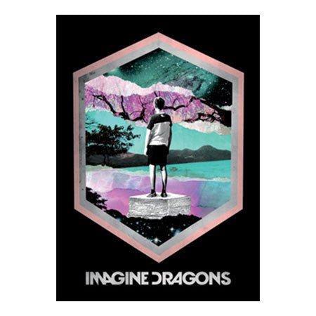 Imagine Dragons Framed Fabric Poster