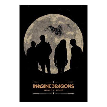 Imagine Dragons Howling Moon Fabric Poster