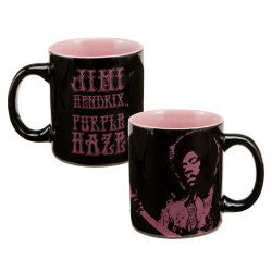 Jimi Hendrix Purple Haze 12 oz Ceramic Mug