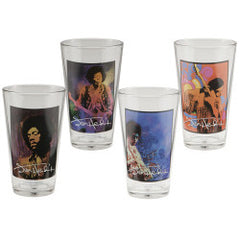 Jimi Hendrix 16 oz Glass Set