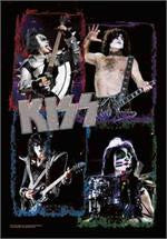 KISS Fabric Poster