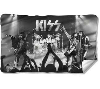 KISS Staged Fleece Blanket