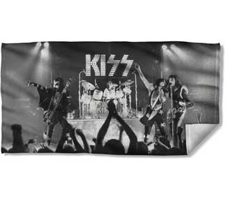 KISS Staged Beach Towel