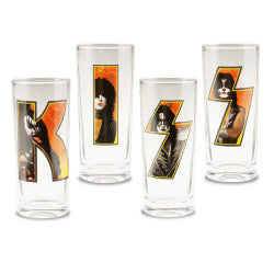 KISS 10 oz Glass Set