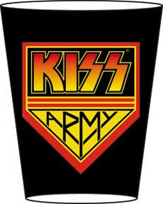 KISS Army Shot Glass